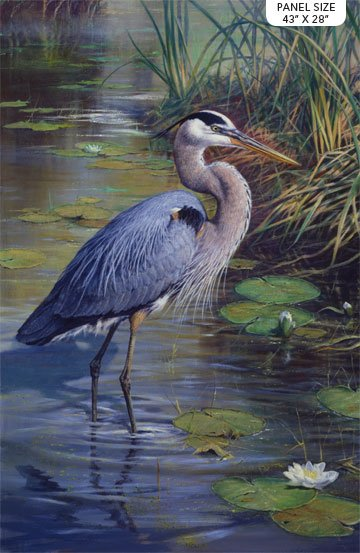 The Great Blue Panel - Northcott Collection