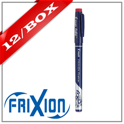 Frixion Fine Line Marker Pen - Red