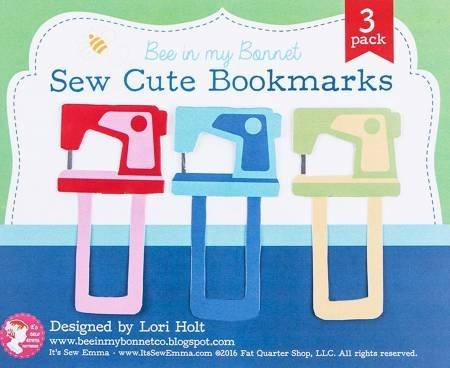 Sew Cute Bookmarks 3pk
