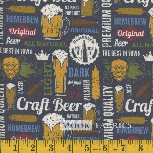 Retro Craft Beer 45 100% Cotton