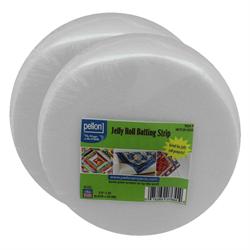 Pellon Jelly Roll Batting Strip - 2 ROLLS 2.5 X 25YDS
