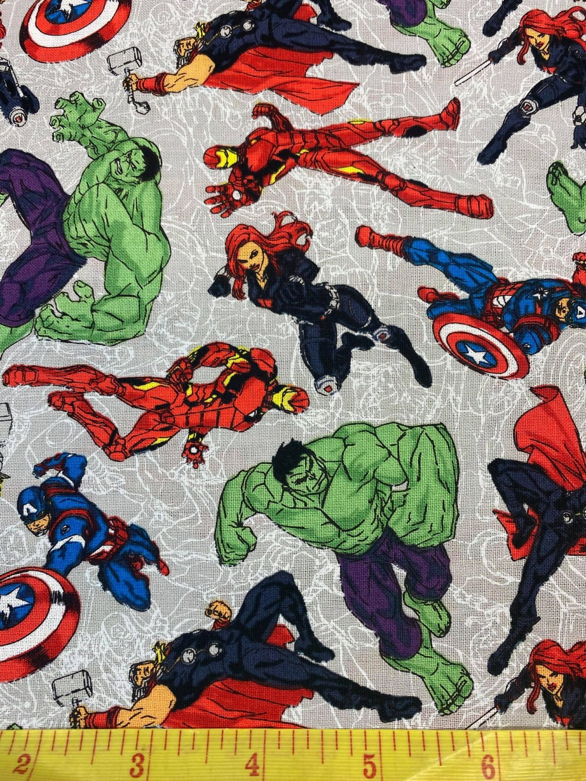 Marvel 100% Cotton 45
