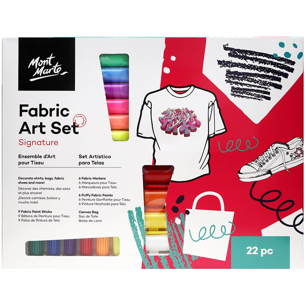 MONT MARTE Signature Fabric Art Set - 22pc