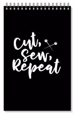 Note Book Cut Sew Repeat