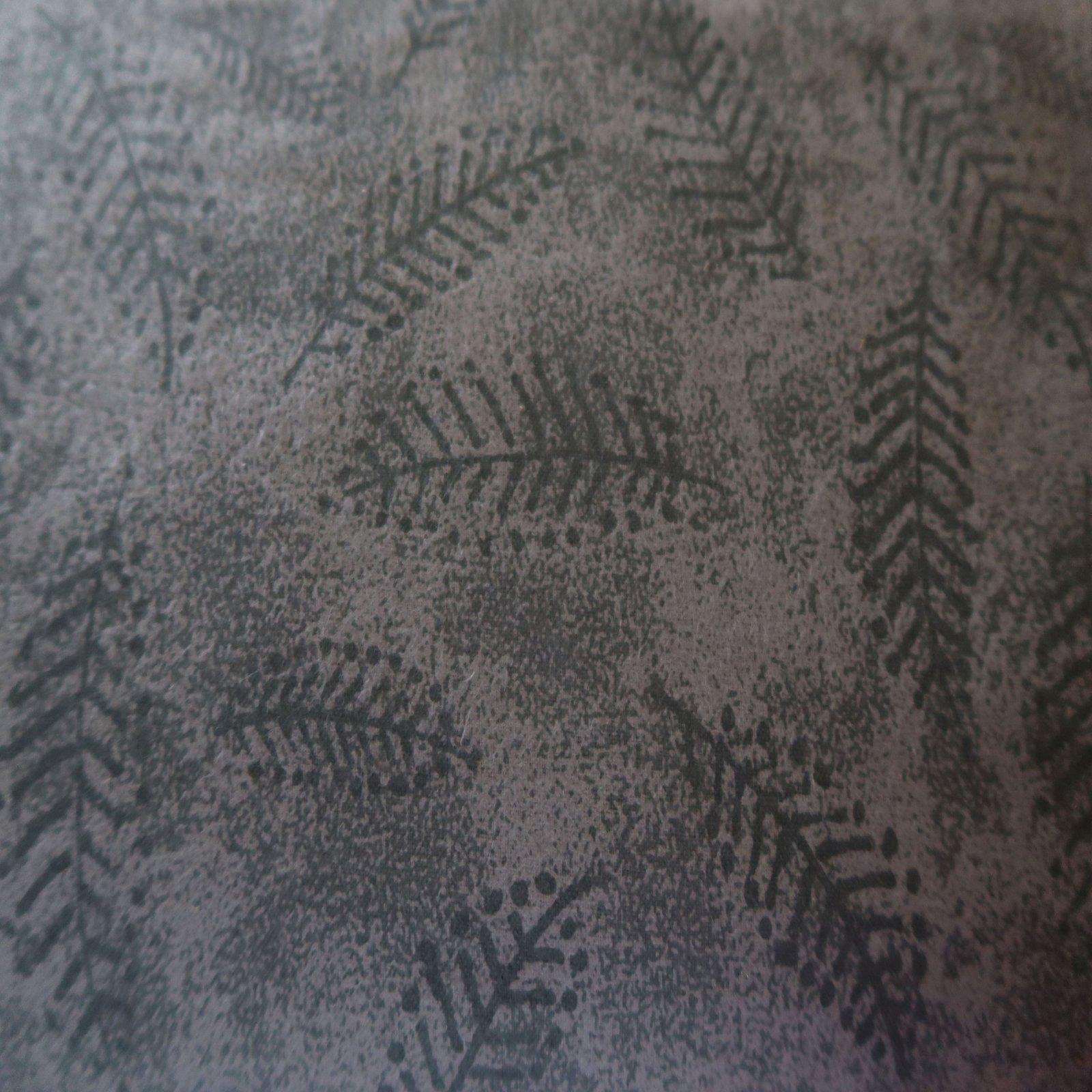 110 Fern Flannel - Gray
