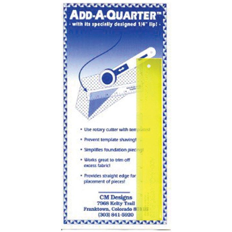 Add A-Quarter Ruler 1in x 6in
