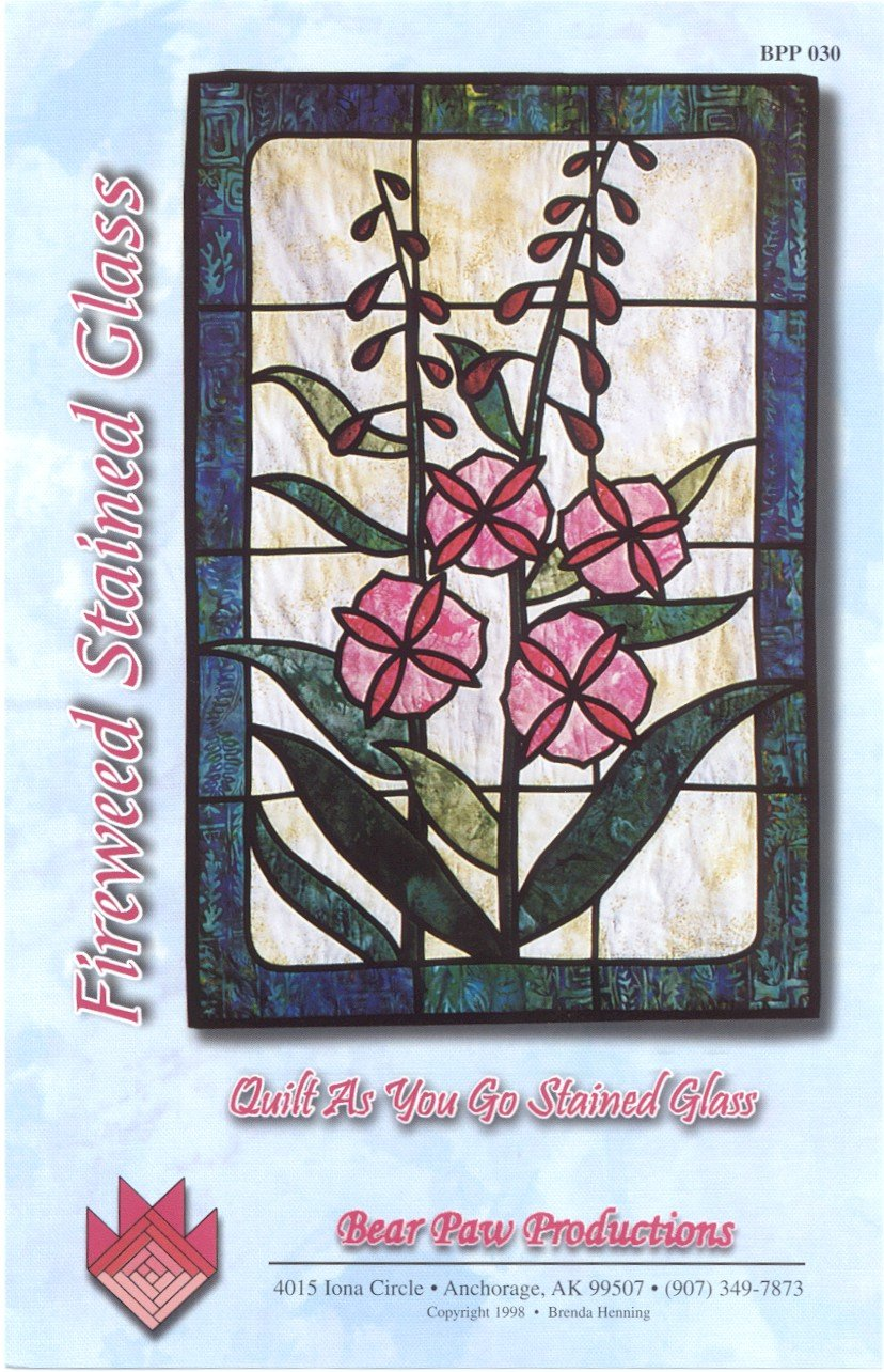 Fireweed Stained Glass
