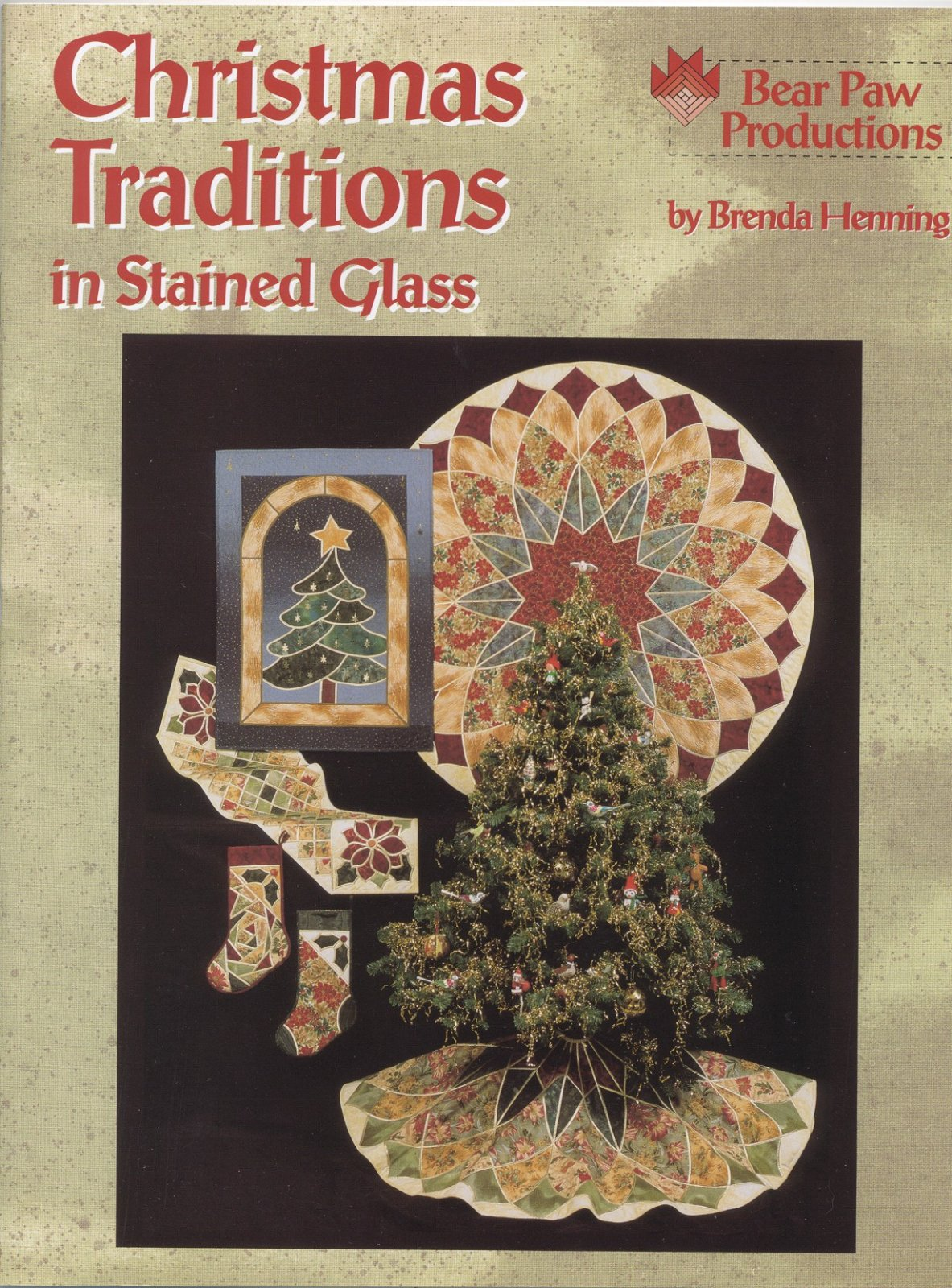 Christmas Traditions in Stained Glass - Digital Download
