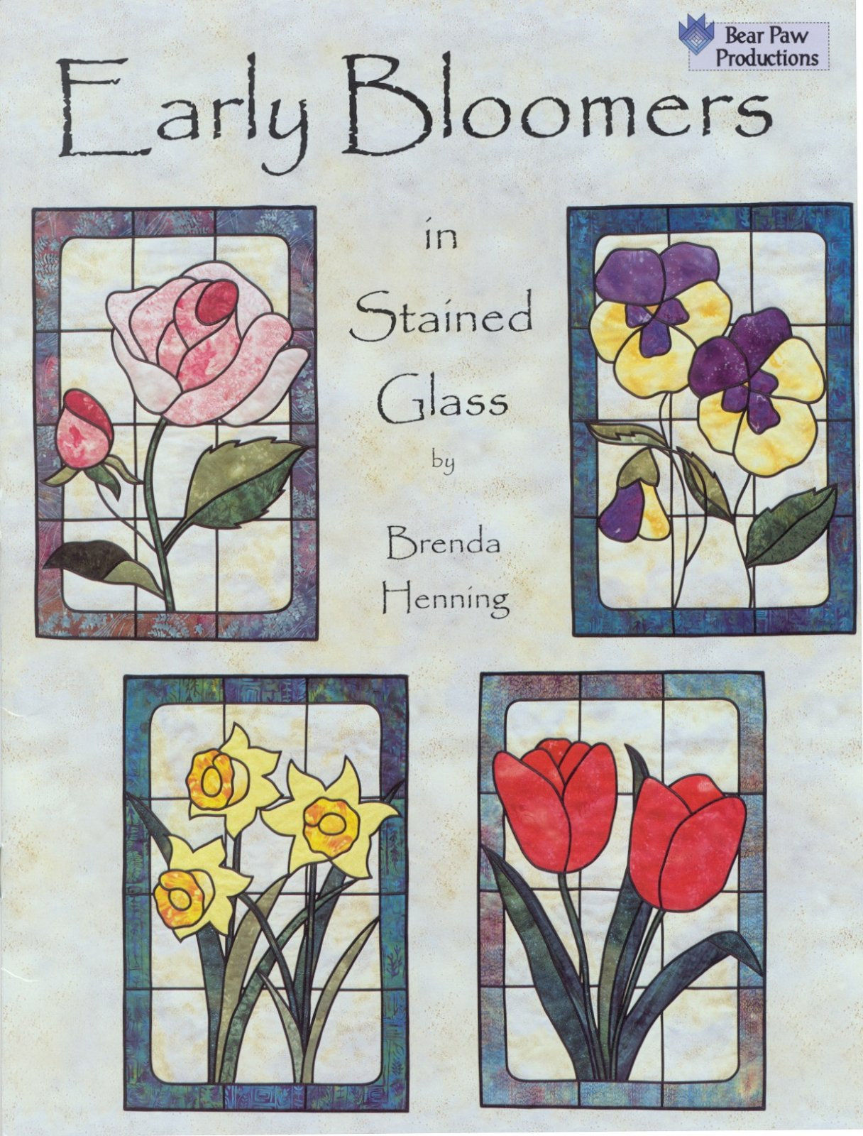 Early Bloomers in Stained Glass