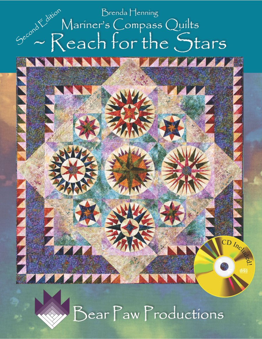 Mariners Compass Quilts - Reach for the Stars