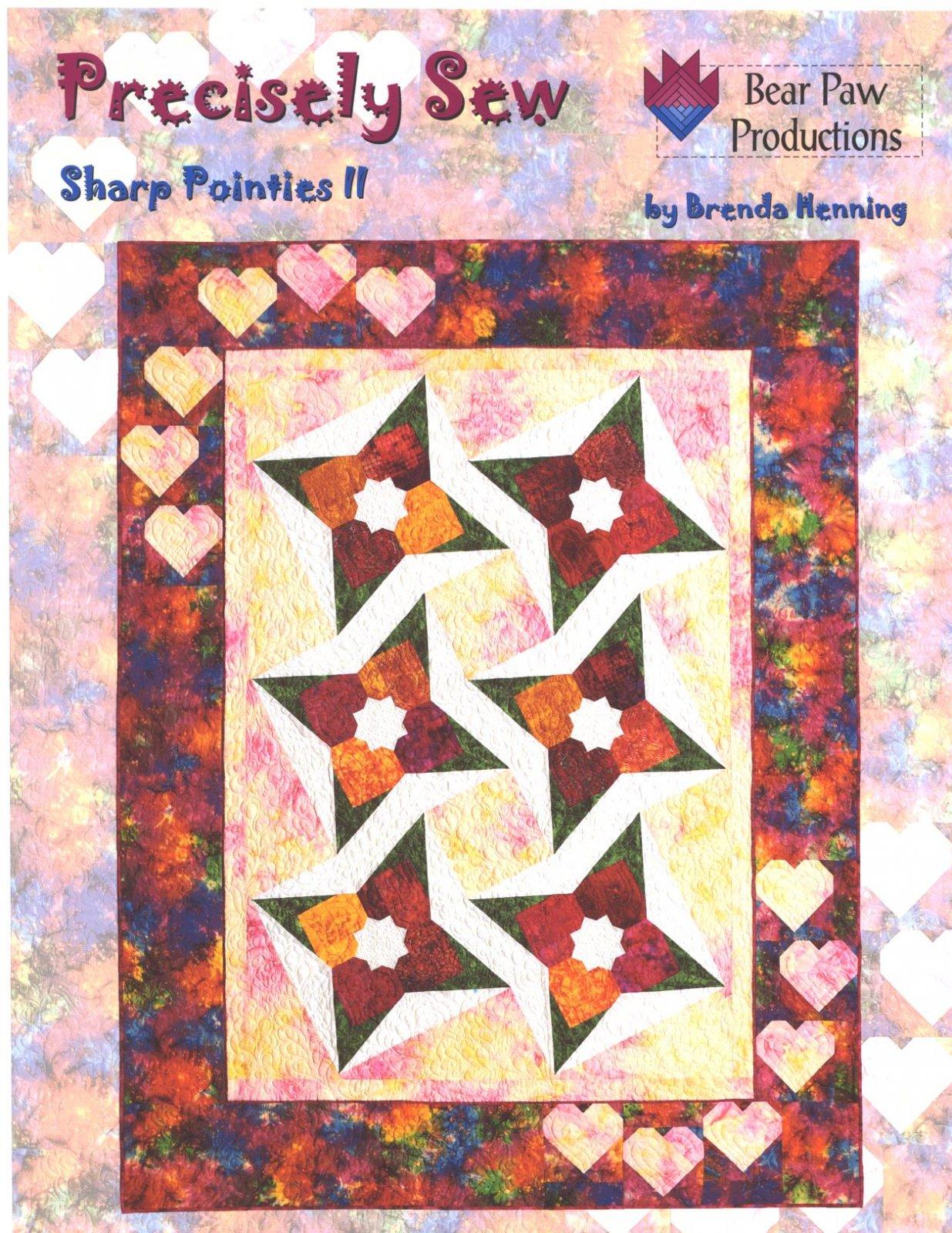 Precisely Sew ~ Sharp Pointies II