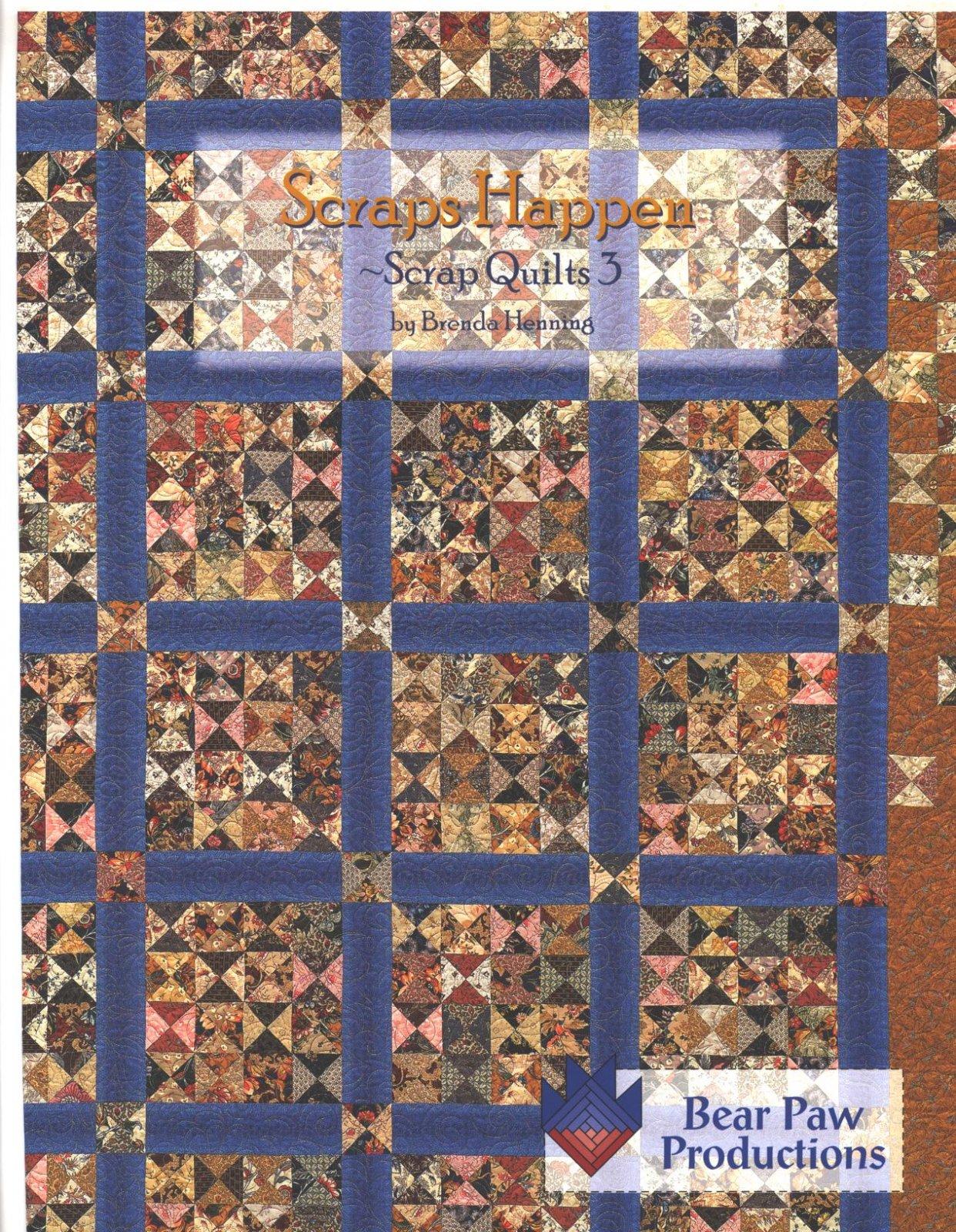 Scraps Happen ~ Scrap Quilts 3