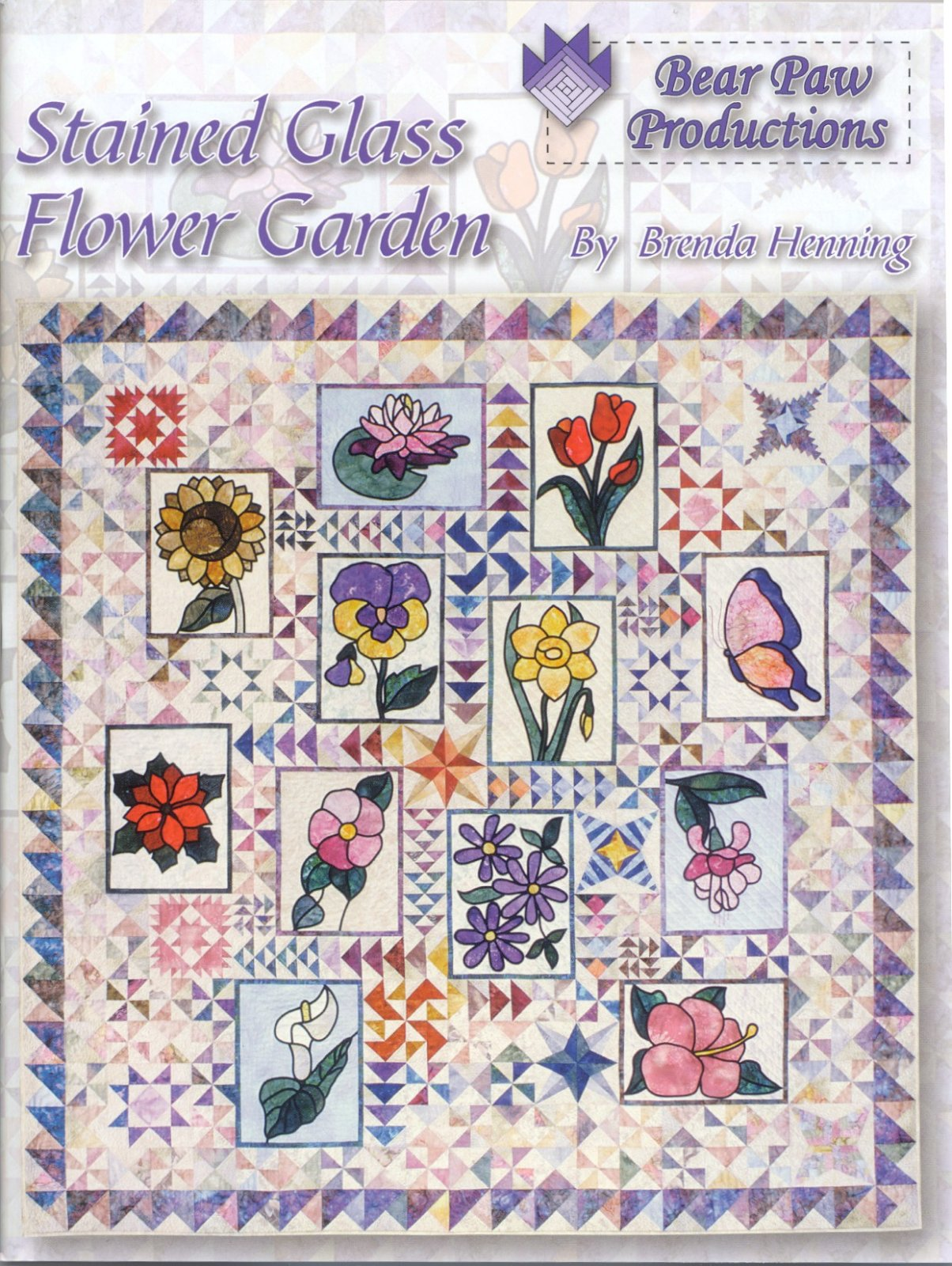 Stained Glass Flower Garden