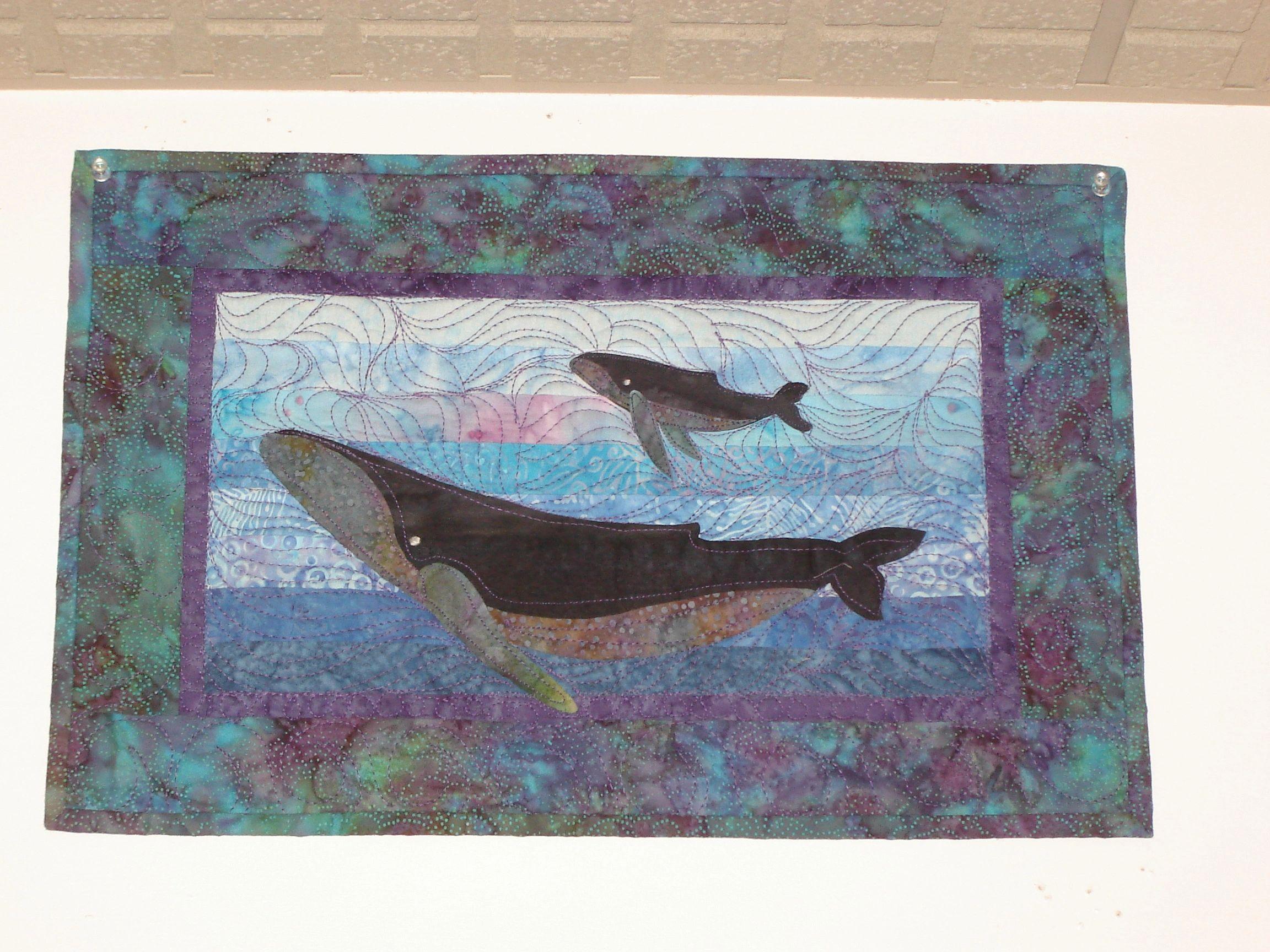 Humpback Whale Quilt Kit