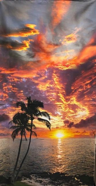 Paradise Sunset panel #14