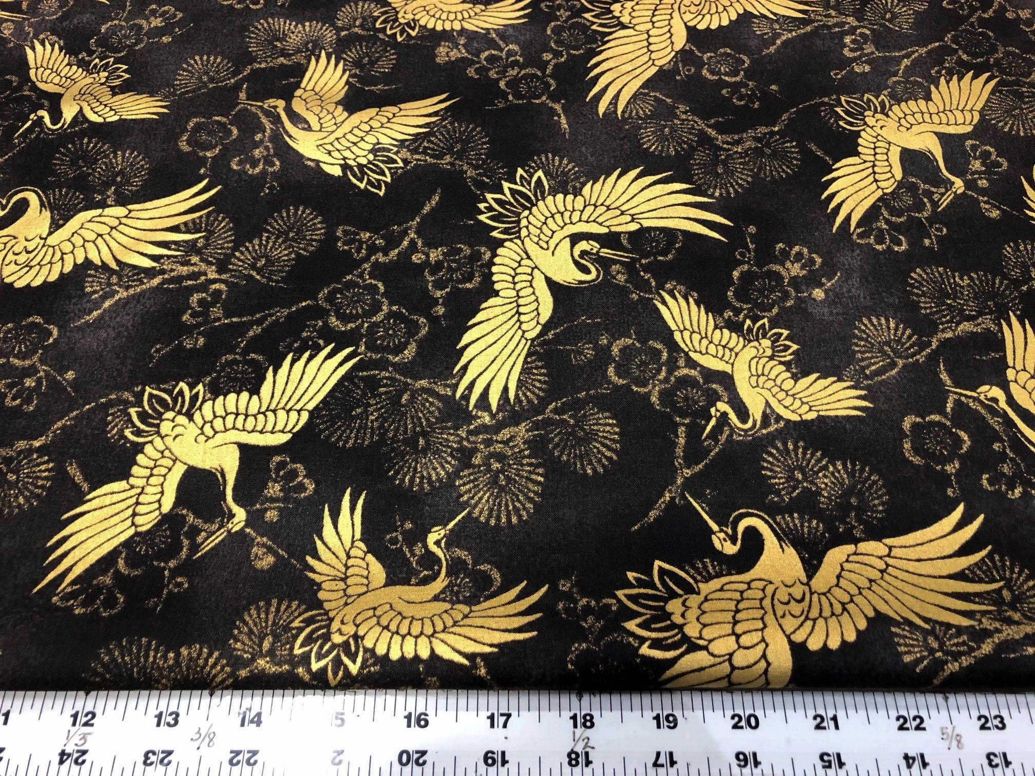 Golden Cranes