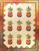 Sunshine Pineapple Quilt Kit