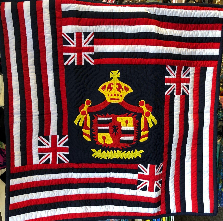 42 X 42 Hawaiian Flag Quilt