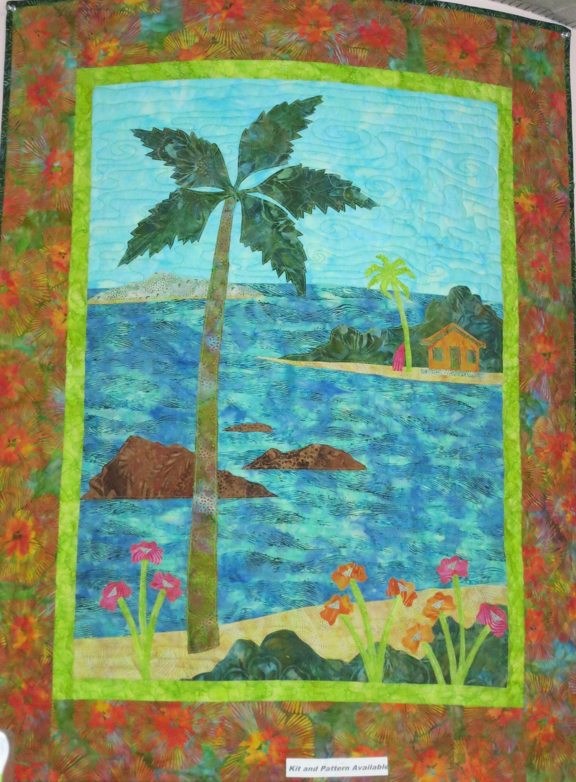 Maui Sunset Quilt Kit