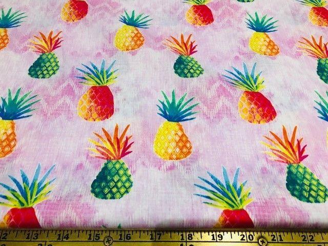 Juicy Pineapples pink