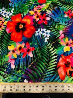 Floral Minky