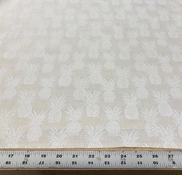 Pineapple White on White