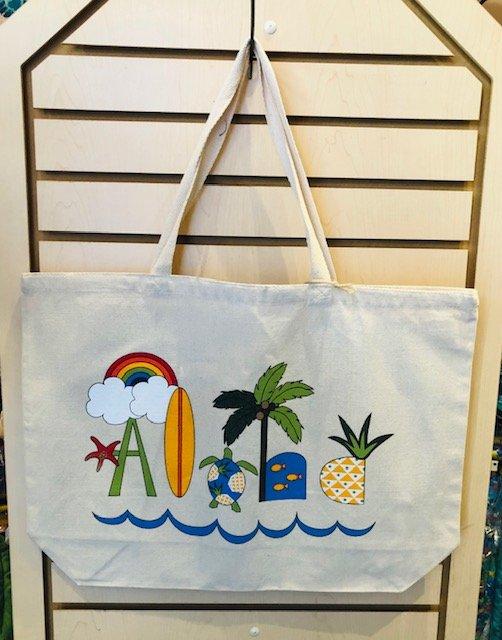 Aloha Tote Bags - Aloha Natural