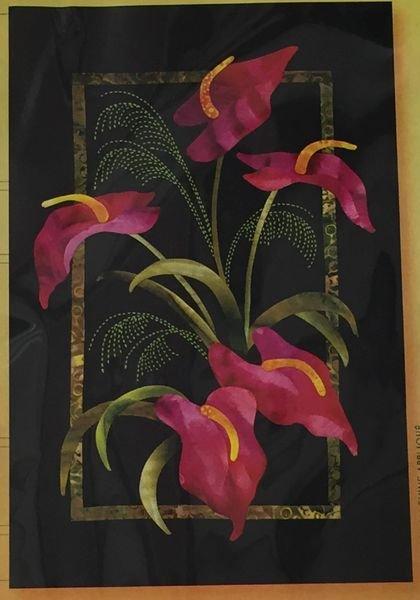 Exotics Anthurium & Grasses Pattern