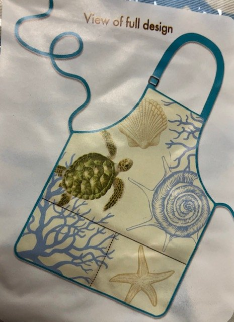 Aprons - Coral and Turtle