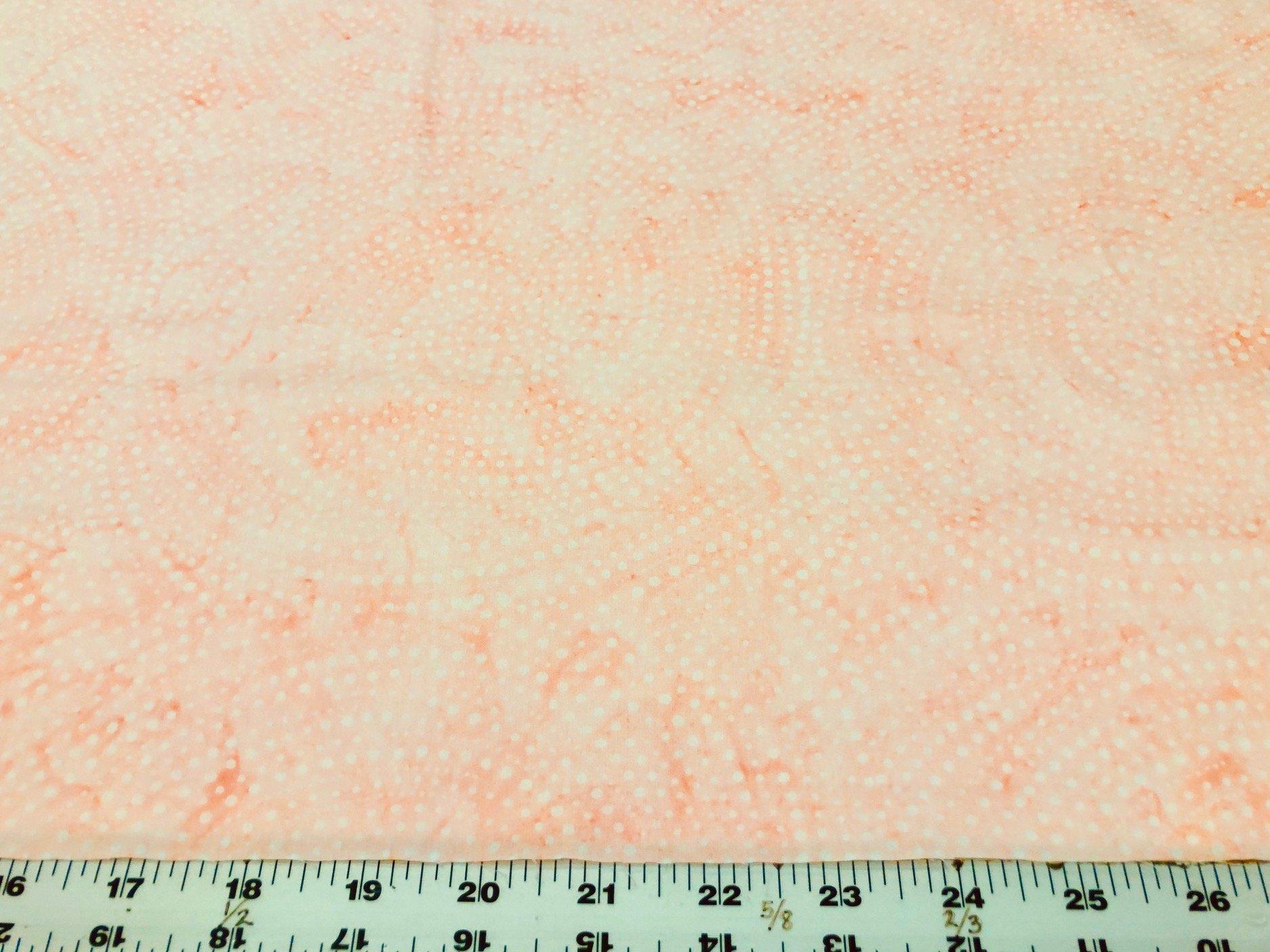 Big Swirl  Batik Peach