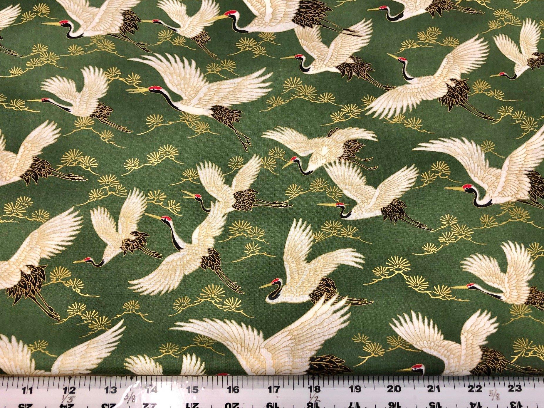 Cranes Moss Green