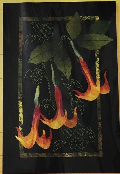 Exotics Datura & Vines Pattern