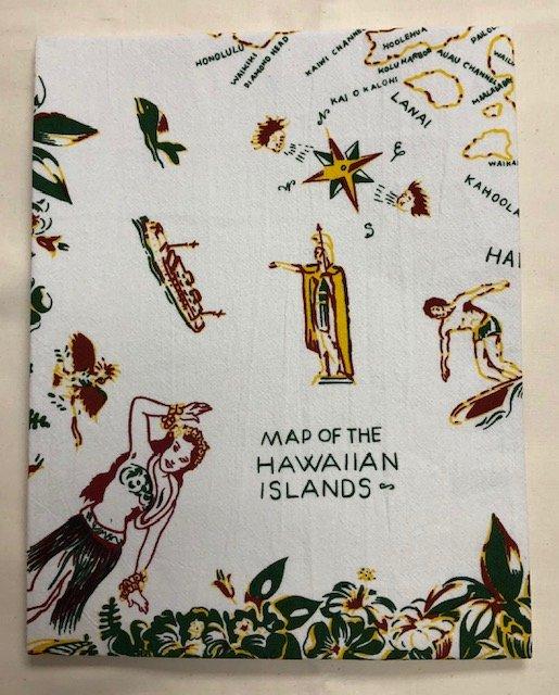 Flour Sack Towels - Hawaiian Islands