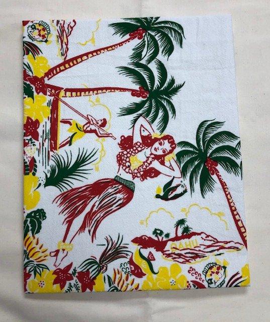 Flour Sack Towels - Lovely Oahu