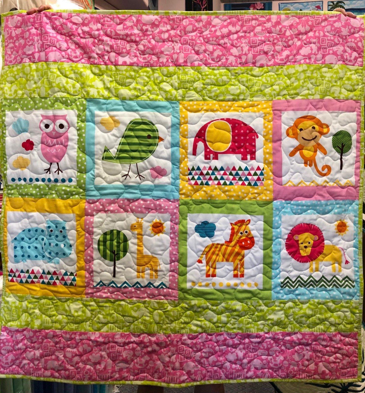 Happy Baby Blocks  Quilt