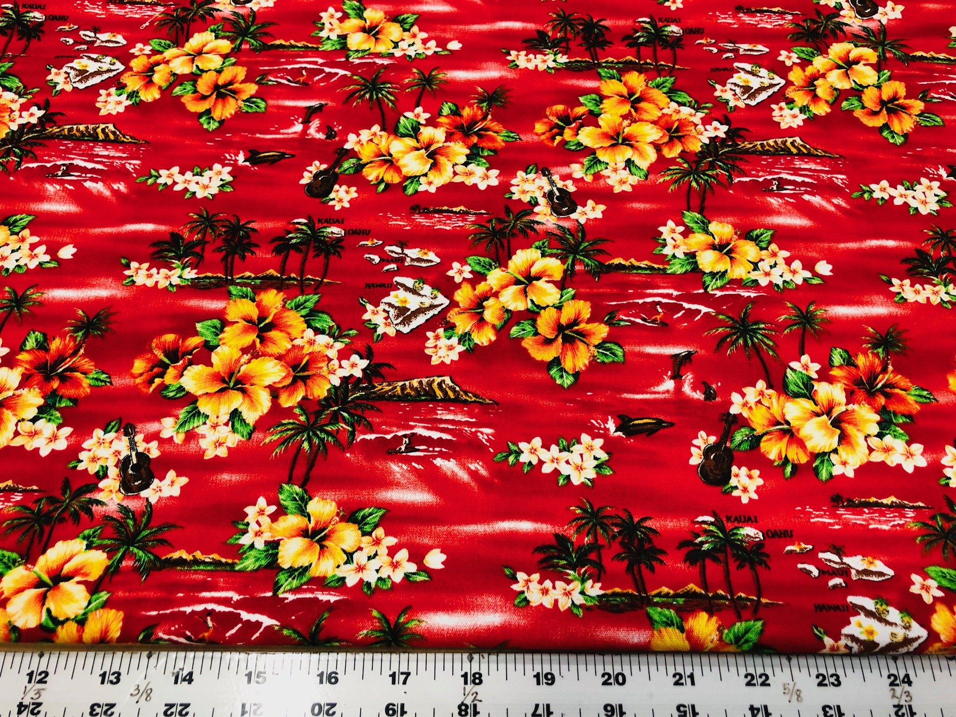 Hawaii Duck Cloth