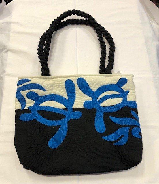 Hawaiian Quilted Bag Honu
