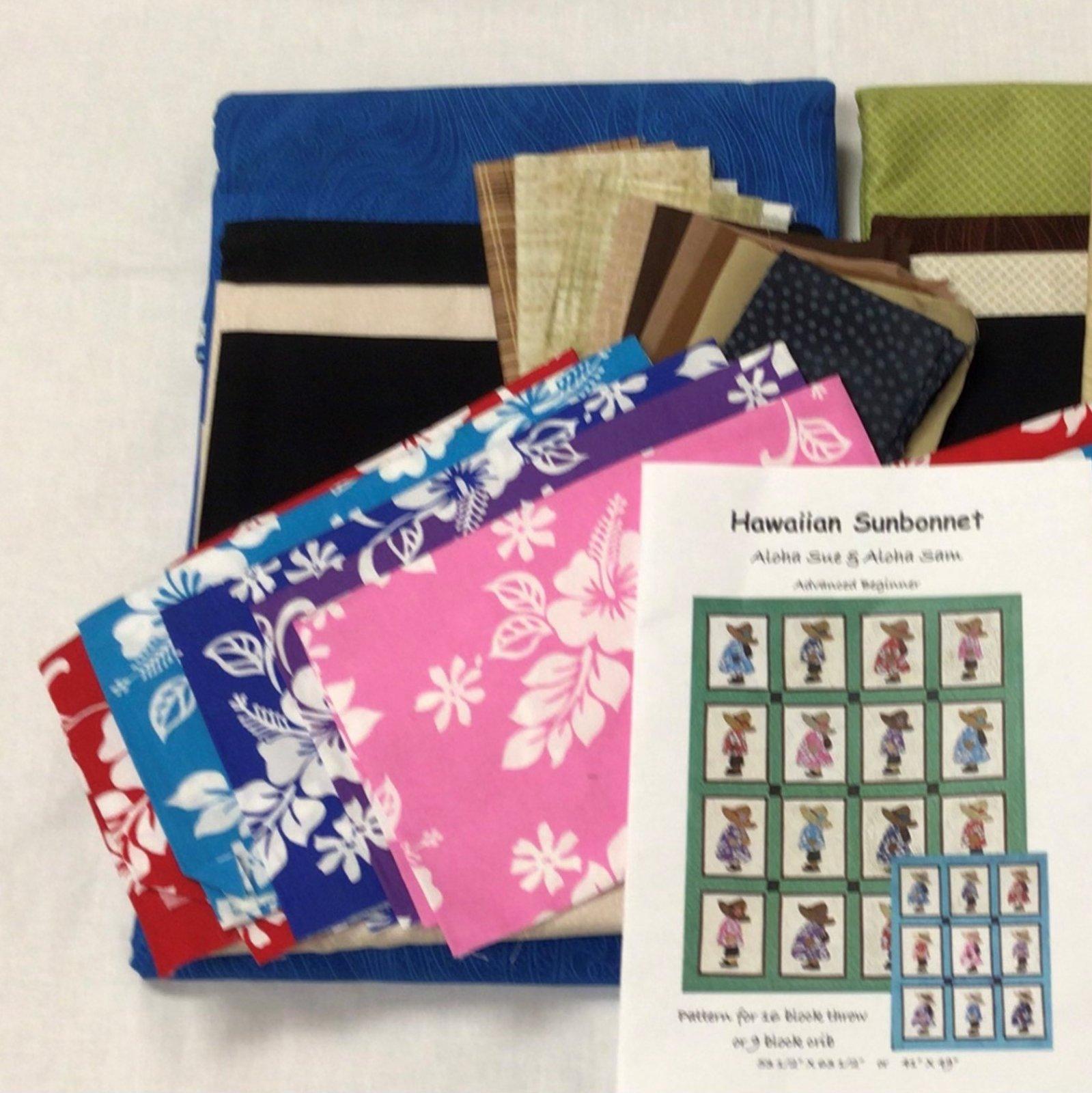 Hawaiian Sunbonnet Kit