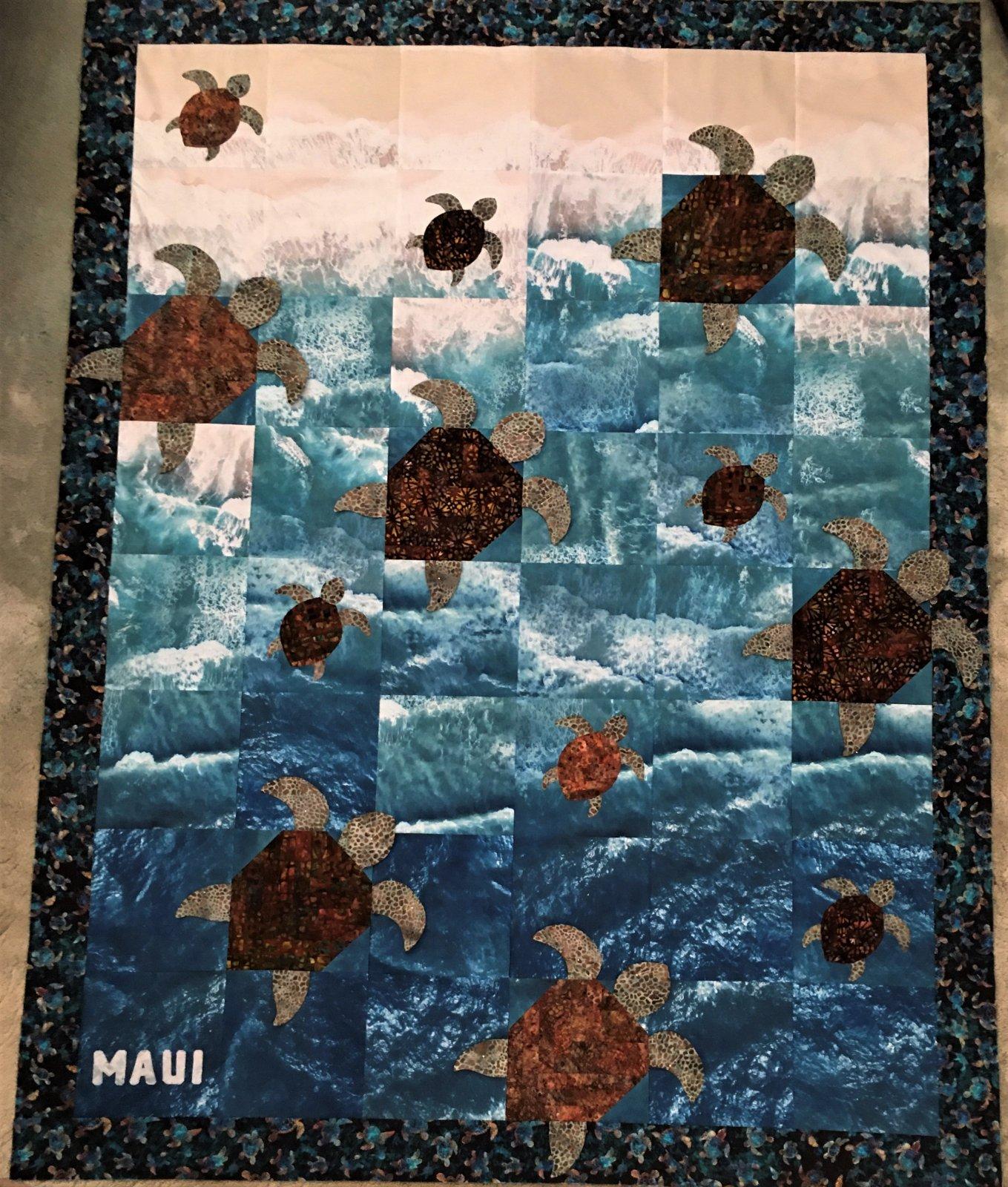 Maui Honu Quilt Kit