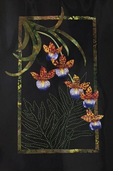 Exotics Oncidium Orchids Pattern