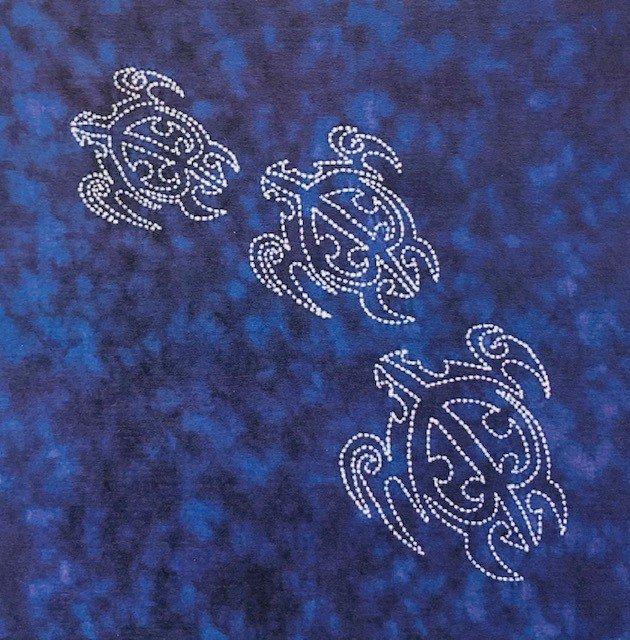 Sea Life Panel Sea Turtles