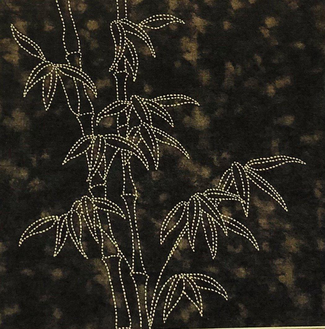 Tropical Foliage Panel Bamboo