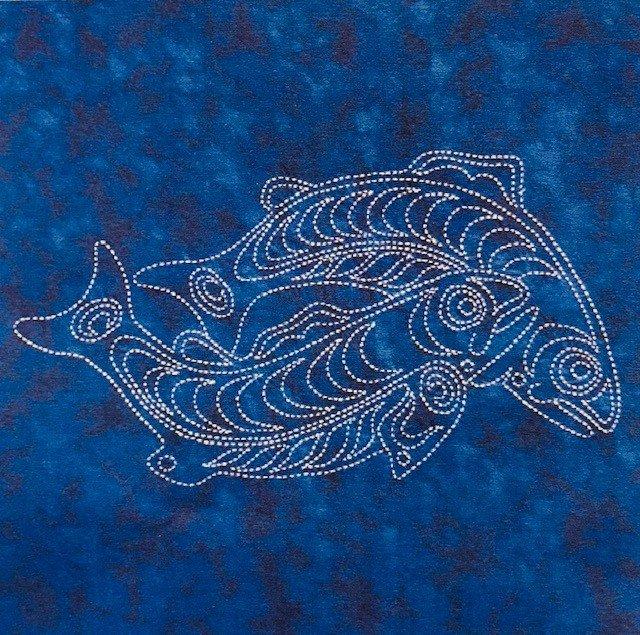 Sea Life Panel  Sockeye Salmon