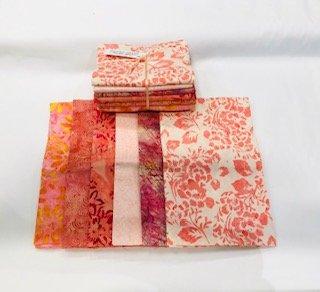 Peach Sorbet Batik bundle