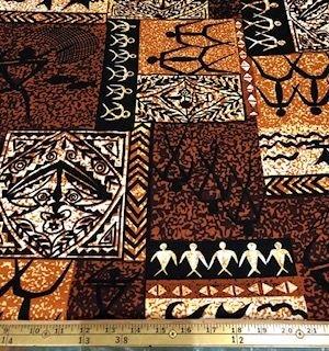 Petroglyph Bark Cloth
