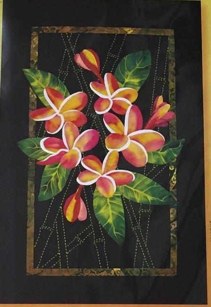 Exotics Plumeria & Bamboo Pattern