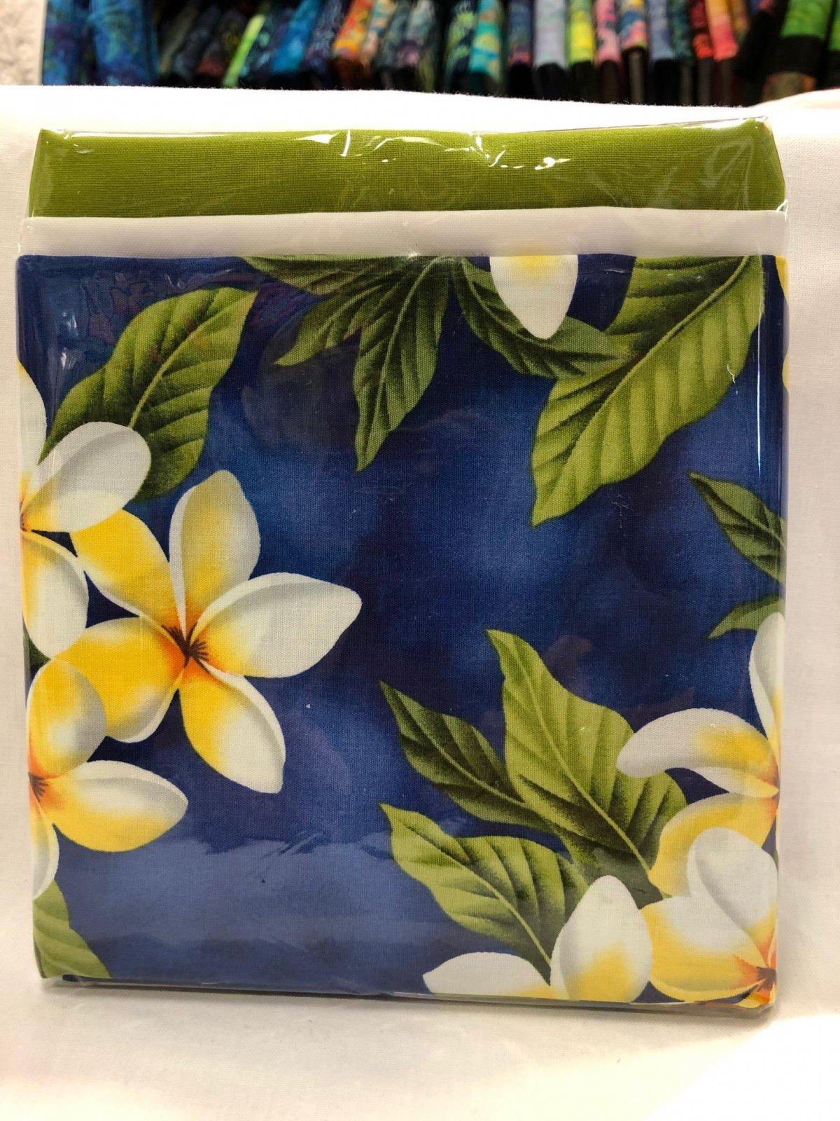 Pillowcase Kits Set of 2 Plumeria