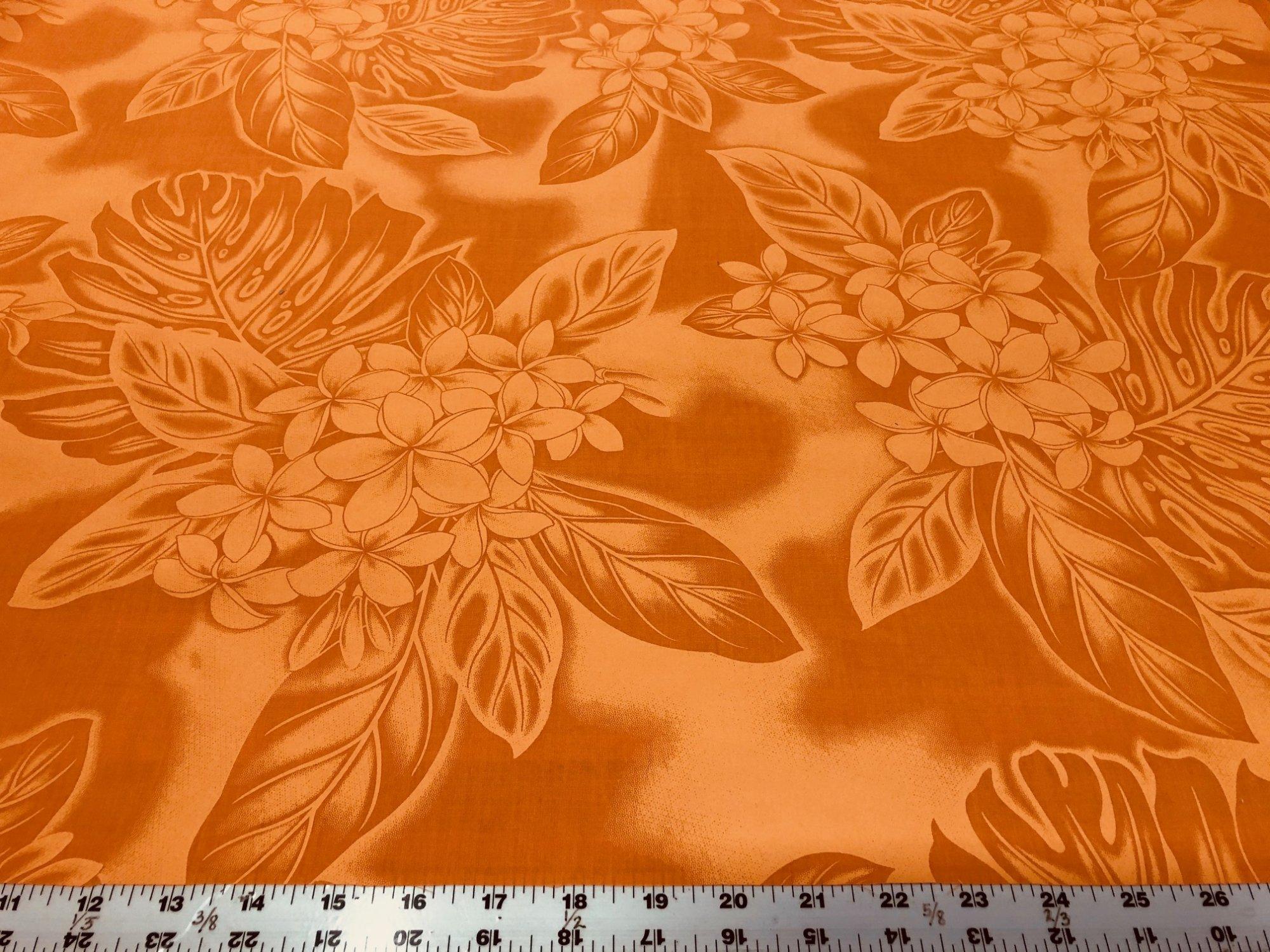 Plumeria  Poly/Cotton