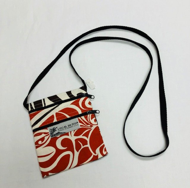 Cross Body Bags Small - SM #3 off white, brown, rust
