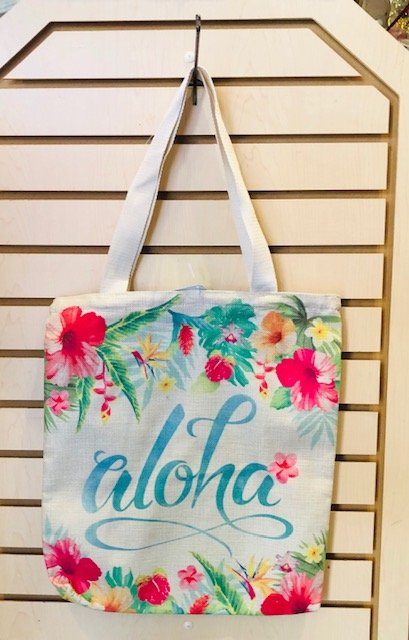 Small Tote Bag - Aloha Floral
